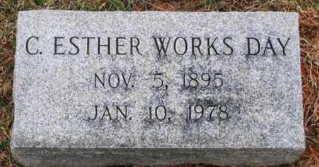 DAY, C. ESTHER - Howard County, Maryland | C. ESTHER DAY - Maryland Gravestone Photos
