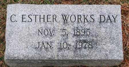 WORKS DAY, C. ESTHER - Howard County, Maryland | C. ESTHER WORKS DAY - Maryland Gravestone Photos