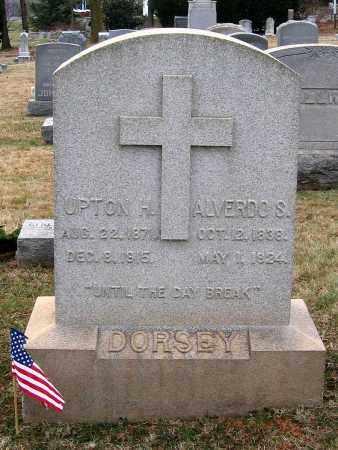 DORSEY, UPTON H. - Howard County, Maryland | UPTON H. DORSEY - Maryland Gravestone Photos