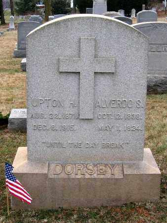 DORSEY, UPTON H. - Howard County, Maryland | UPTON H. DORSEY - Maryland Gravestone Photos