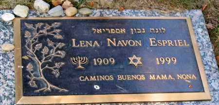 ESPRIEL, LENA NAVON - Howard County, Maryland | LENA NAVON ESPRIEL - Maryland Gravestone Photos