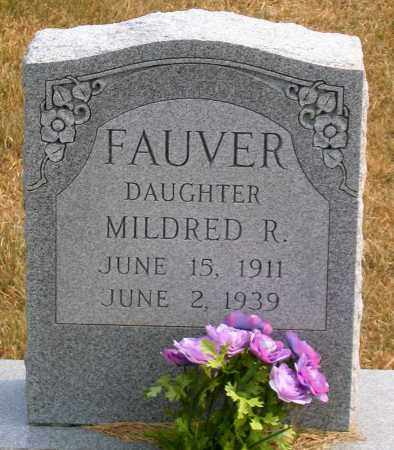 FAUVER, MILDRED R. - Howard County, Maryland   MILDRED R. FAUVER - Maryland Gravestone Photos