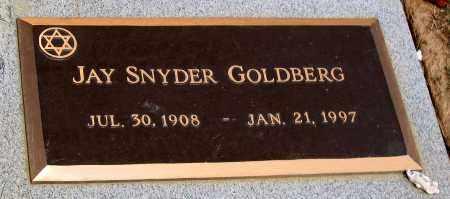 GOLDBERG, JAY SNYDER - Howard County, Maryland | JAY SNYDER GOLDBERG - Maryland Gravestone Photos