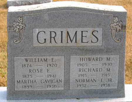 GRIMES, WILLIAM E. - Howard County, Maryland | WILLIAM E. GRIMES - Maryland Gravestone Photos