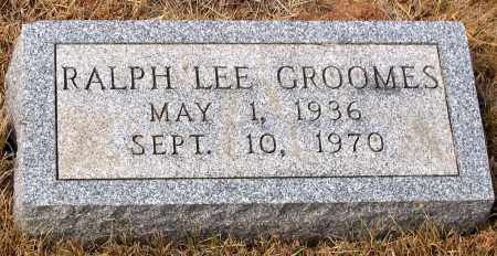 GROOMES, RALPH LEE - Howard County, Maryland | RALPH LEE GROOMES - Maryland Gravestone Photos