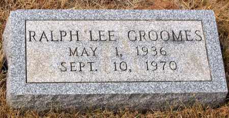 GROOMES, RALPH LEE - Howard County, Maryland | RALPH LEE GROOMES - Maryland Gravestone Photos