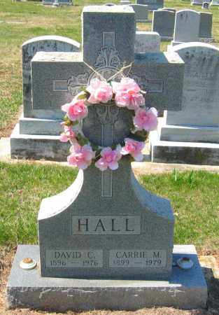 HALL, CARRIE M. - Howard County, Maryland | CARRIE M. HALL - Maryland Gravestone Photos