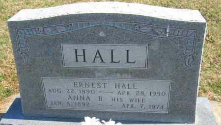 HALL, ANNA B. - Howard County, Maryland   ANNA B. HALL - Maryland Gravestone Photos