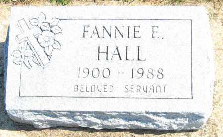 HALL HALL, FANNIE E. - Howard County, Maryland | FANNIE E. HALL HALL - Maryland Gravestone Photos