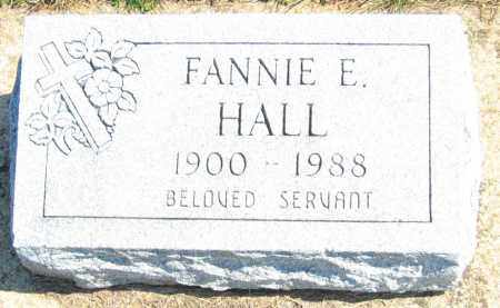 HALL HALL, FANNIE E. - Howard County, Maryland | FANNIE E. HALL HALL - Maryland Gravestone Photos