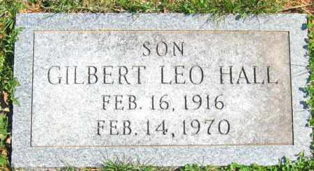 HALL, GILBERT LEO - Howard County, Maryland | GILBERT LEO HALL - Maryland Gravestone Photos