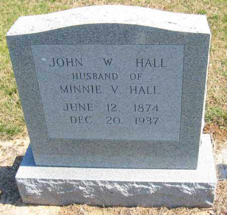 HALL, JOHN W. - Howard County, Maryland | JOHN W. HALL - Maryland Gravestone Photos