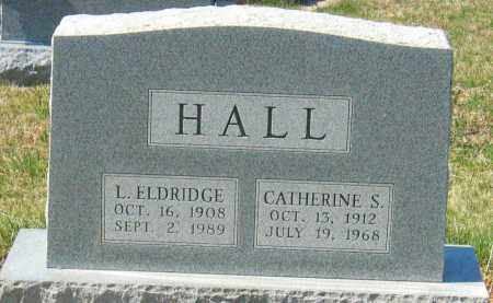 HALL, LOUIS ELDRIDGE - Howard County, Maryland | LOUIS ELDRIDGE HALL - Maryland Gravestone Photos