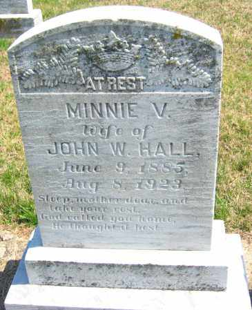 HALL, MINNIE V. - Howard County, Maryland | MINNIE V. HALL - Maryland Gravestone Photos