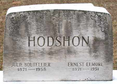 HODSHON, ERNEST ELMORE - Howard County, Maryland | ERNEST ELMORE HODSHON - Maryland Gravestone Photos