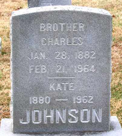 JOHNSON, KATE - Howard County, Maryland | KATE JOHNSON - Maryland Gravestone Photos