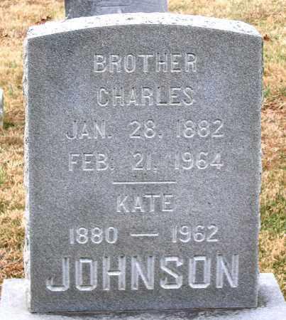 JOHNSON, CHARLES - Howard County, Maryland | CHARLES JOHNSON - Maryland Gravestone Photos