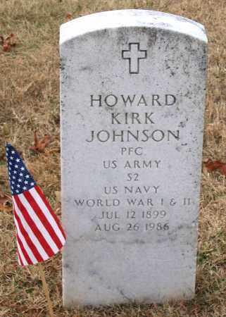 JOHNSON, HOWARD KIRK - Howard County, Maryland | HOWARD KIRK JOHNSON - Maryland Gravestone Photos