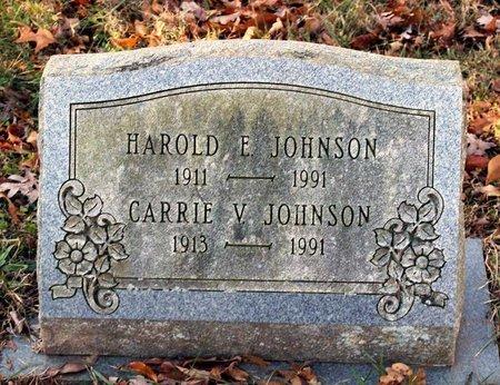 JOHNSON, CARRIE V. - Howard County, Maryland | CARRIE V. JOHNSON - Maryland Gravestone Photos