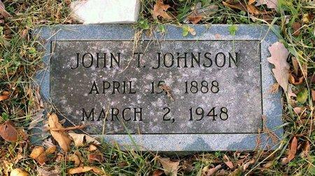 JOHNSON, JOHN T. - Howard County, Maryland | JOHN T. JOHNSON - Maryland Gravestone Photos