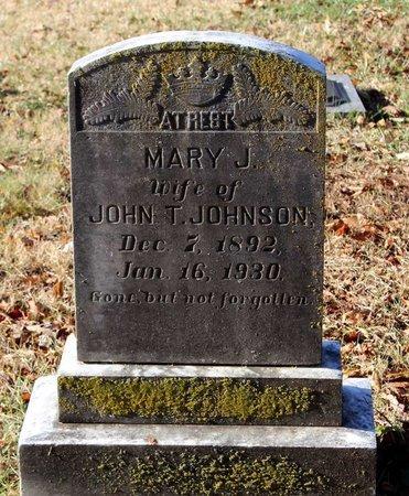 JOHNSON, MARY J. - Howard County, Maryland | MARY J. JOHNSON - Maryland Gravestone Photos