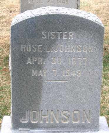 JOHNSON, ROSE L. - Howard County, Maryland | ROSE L. JOHNSON - Maryland Gravestone Photos