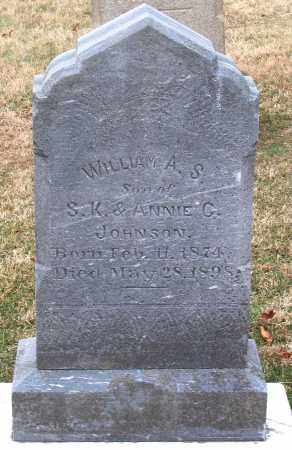 JOHNSON, WILLIAM A. S. - Howard County, Maryland | WILLIAM A. S. JOHNSON - Maryland Gravestone Photos