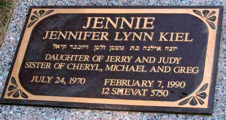 KIEL, JENNIFER LYNN - Howard County, Maryland | JENNIFER LYNN KIEL - Maryland Gravestone Photos