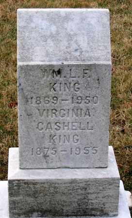 CASHELL KING, VIRGINIA - Howard County, Maryland | VIRGINIA CASHELL KING - Maryland Gravestone Photos