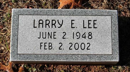 LEE, LARRY E. - Howard County, Maryland | LARRY E. LEE - Maryland Gravestone Photos