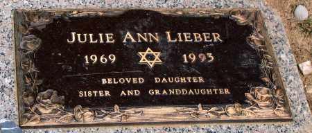 LIEBER, JULIE ANN - Howard County, Maryland | JULIE ANN LIEBER - Maryland Gravestone Photos