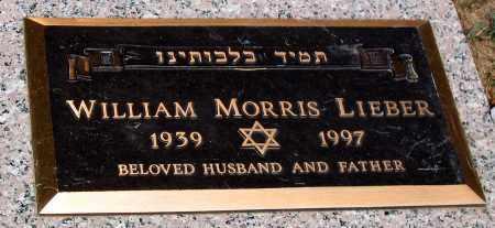 LIEBER, WILLIAM MORRIS - Howard County, Maryland | WILLIAM MORRIS LIEBER - Maryland Gravestone Photos