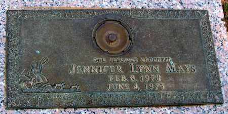MAYS, JENNIFER LYNN - Howard County, Maryland | JENNIFER LYNN MAYS - Maryland Gravestone Photos