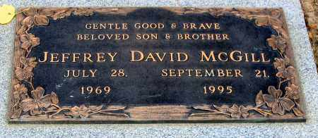 MCGILL, JEFFREY DAVID - Howard County, Maryland | JEFFREY DAVID MCGILL - Maryland Gravestone Photos