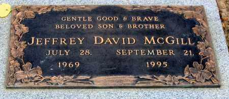 MCGILL, JEFFREY DAVID - Howard County, Maryland | JEFFREY DAVID MCGILL - Maryland Gravestone Photos