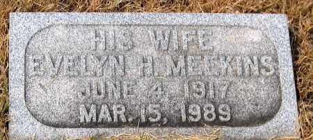 MEEKINS, EVELYN H. - Howard County, Maryland | EVELYN H. MEEKINS - Maryland Gravestone Photos
