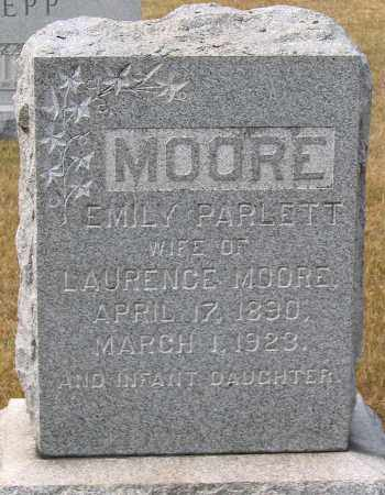 MOORE, EMILY - Howard County, Maryland | EMILY MOORE - Maryland Gravestone Photos