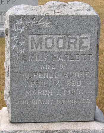 PARLETT MOORE, EMILY - Howard County, Maryland | EMILY PARLETT MOORE - Maryland Gravestone Photos