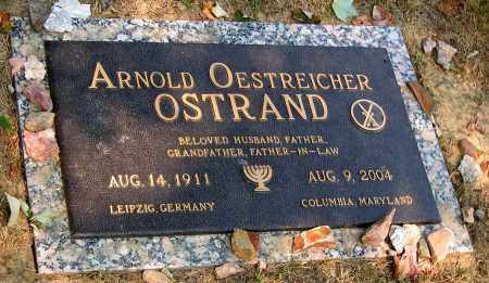 OSTRAND, ARNOLD OESTREICHER - Howard County, Maryland | ARNOLD OESTREICHER OSTRAND - Maryland Gravestone Photos