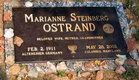 OSTRAND, MARIANNE STEINBERG - Howard County, Maryland | MARIANNE STEINBERG OSTRAND - Maryland Gravestone Photos