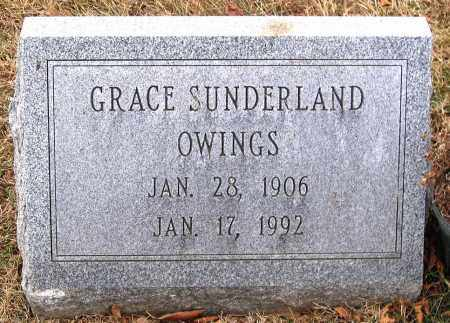 SUNDERLAND OWINGS, GRACE - Howard County, Maryland | GRACE SUNDERLAND OWINGS - Maryland Gravestone Photos