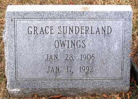 SUNDERLAND OWINGS, GRACE - Howard County, Maryland | GRACE SUNDERLAND OWINGS - Maryland Gravestone Photos