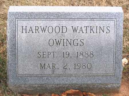 OWINGS, HARWOOD WATKINS - Howard County, Maryland | HARWOOD WATKINS OWINGS - Maryland Gravestone Photos