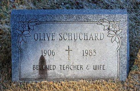 SCHUCHARD, OLIVE - Howard County, Maryland | OLIVE SCHUCHARD - Maryland Gravestone Photos