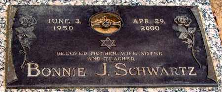 SCHWARTZ, BONNIE J. - Howard County, Maryland | BONNIE J. SCHWARTZ - Maryland Gravestone Photos