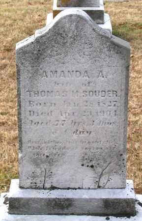 SOUDER, AMANDA A. - Howard County, Maryland | AMANDA A. SOUDER - Maryland Gravestone Photos