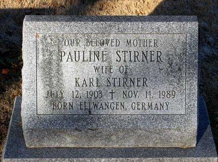 STIRNER, PAULINE - Howard County, Maryland | PAULINE STIRNER - Maryland Gravestone Photos