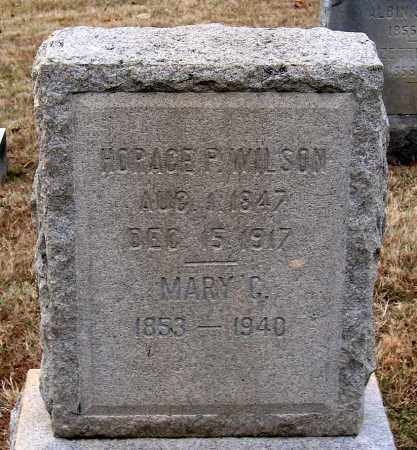 WILSON, HORACE P. - Howard County, Maryland | HORACE P. WILSON - Maryland Gravestone Photos