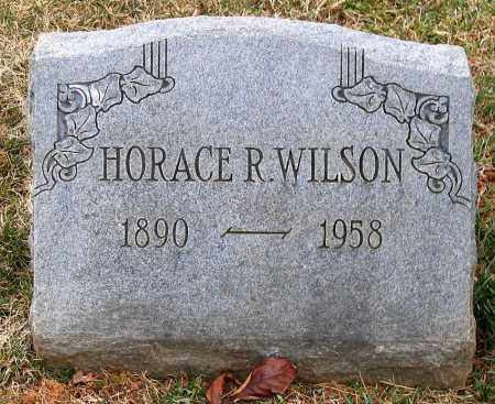 WILSON, HORACE R. - Howard County, Maryland | HORACE R. WILSON - Maryland Gravestone Photos