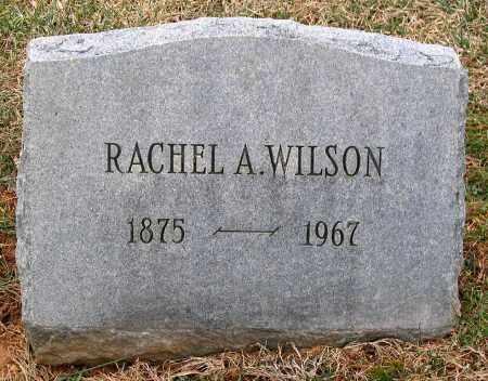 WILSON, RACHEL A. - Howard County, Maryland | RACHEL A. WILSON - Maryland Gravestone Photos